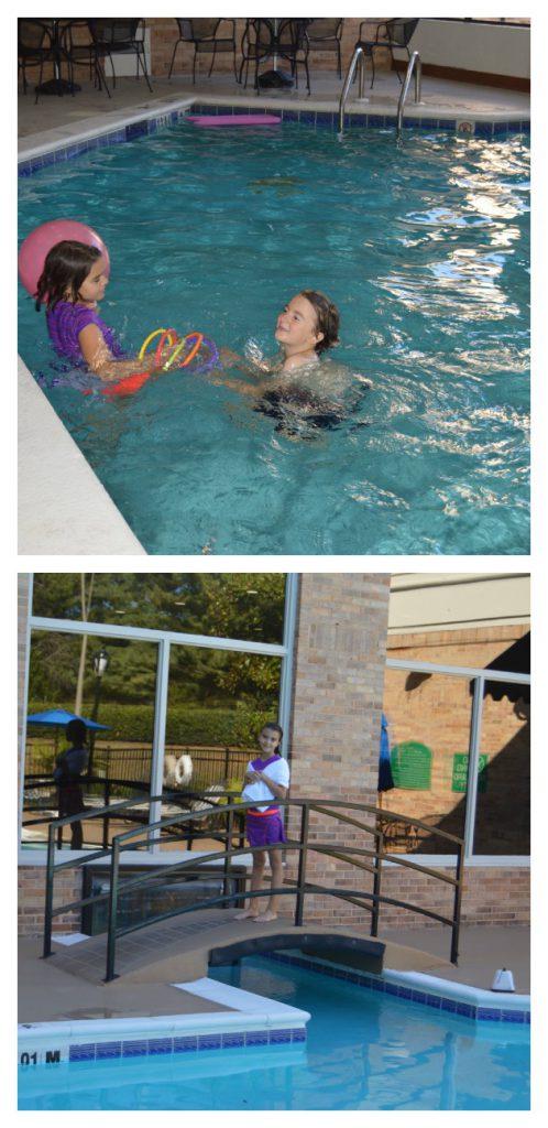 Holiday Inn Pool Indoor & Outdoor