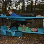 Easy Solution For Sleepovers and Camping- Kid-O-Bunk Portable Bunk Beds