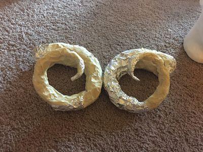 DIY Ram Horns