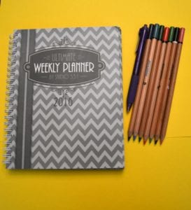 Get Organized With The Ultimate Weekly Planner