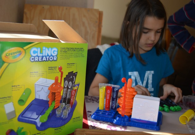 Crayola Cling Creator review