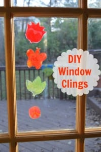 Crayola Kit For DIY Window Clings