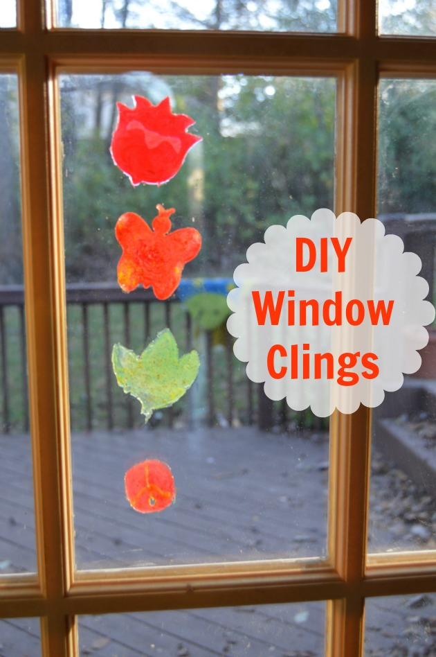 diy window clings are easy with the new crayola cling creator - Window Clings