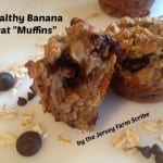Healthy Banana Oat Muffins Recipe