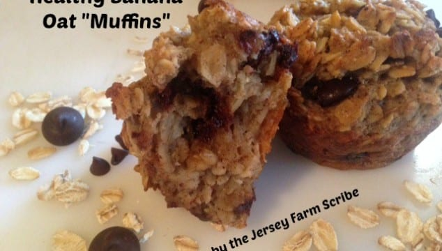 Healthy Banana Oat Muffins Recipe