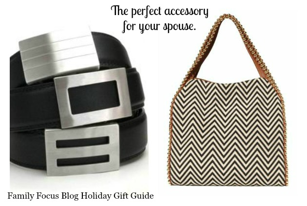 accessory holiday gift guide for your spouse