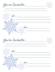 Holiday Invitations