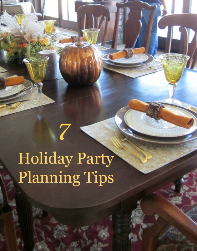 holiday party planning tips