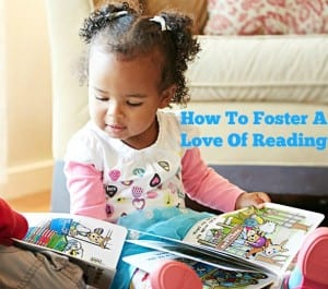 how to foster a love of reading