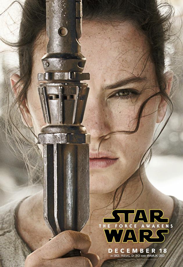 starwars The Force Awakens Rey Poster