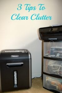 Getting Organized For The Holidays: 3 Tips To Clear The Clutter