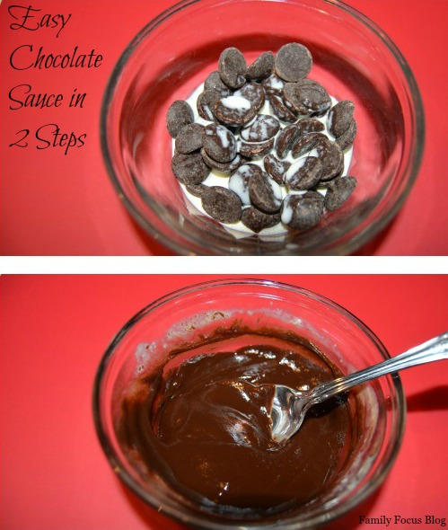 Easy chocolate sauce FFB