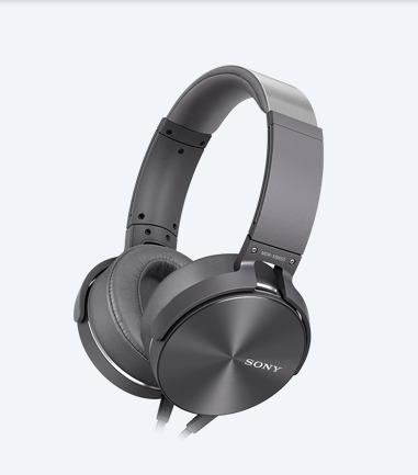 top 4 tech gifts- Sony Bass Headphones