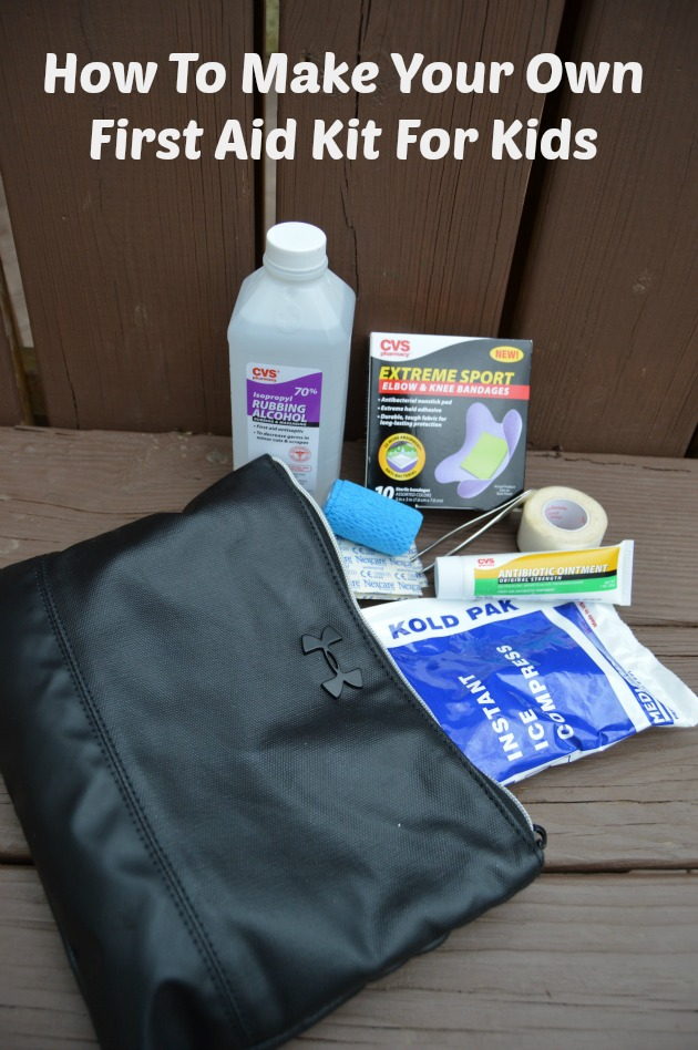 DIY First Aid Kit For Kids | Family Focus Blog