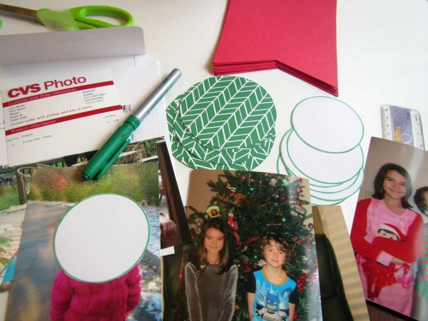 diy photo banner circles
