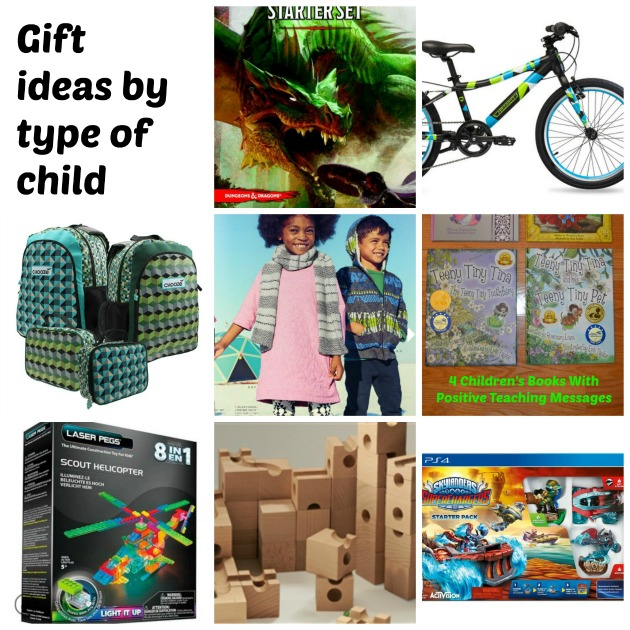 gifts for kids by child type