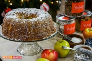 Homemade Apple Cake Made From Scratch