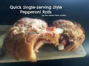 Quick Single-Serving Style Pepperoni Cheese Roll Up Recipe