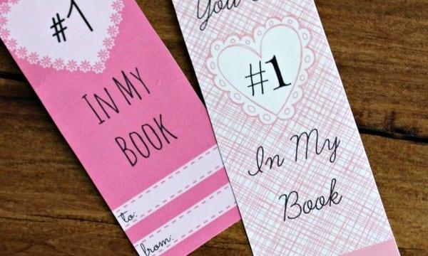 Free Printable Valentine's Day Bookmarks