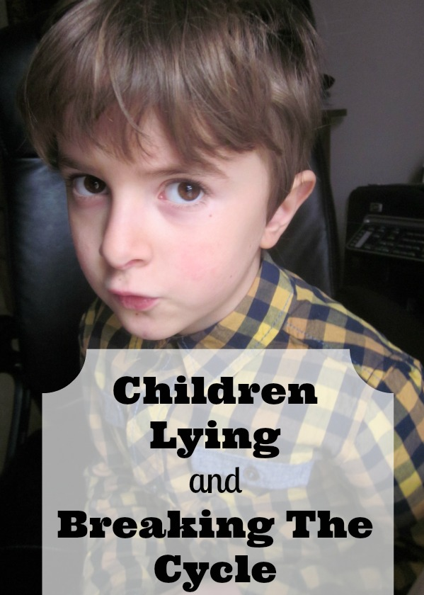 children lying and breaking the cycle