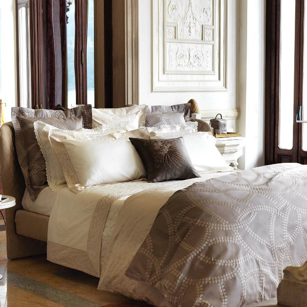 frette luxurious textured bedding