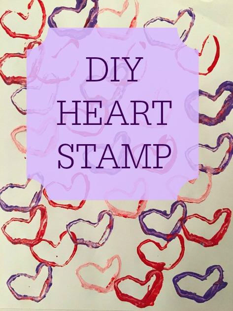 Diy Heart Stamps For Kids Family Focus Blog