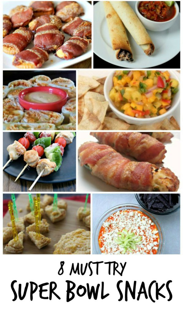 8 Must Try Super Bowl Snack Recipes