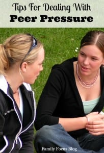Tips for Dealing with Peer Pressure Among Teens
