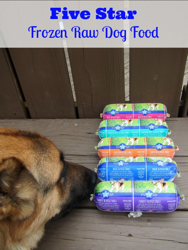 Frozen Raw Dog Food