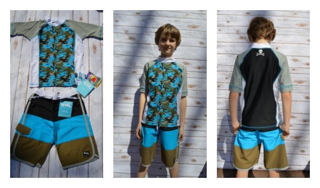 UV sun protected swimwear