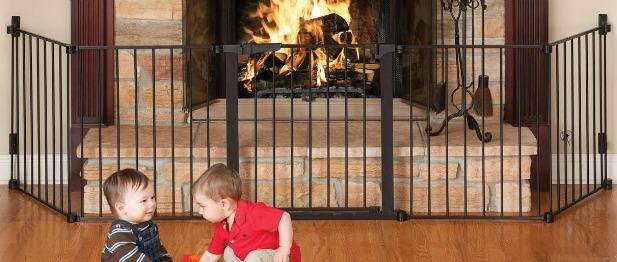 fireplace safety gates