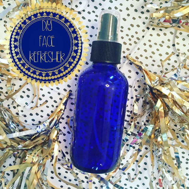 DIY face toner spray recipe. A relaxing and refreshing diy beauty essential.
