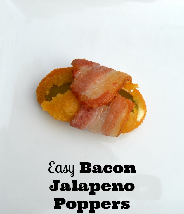 Easy Bacon Jalapeno Poppers