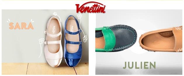 Venettini Designer Kids Shoes