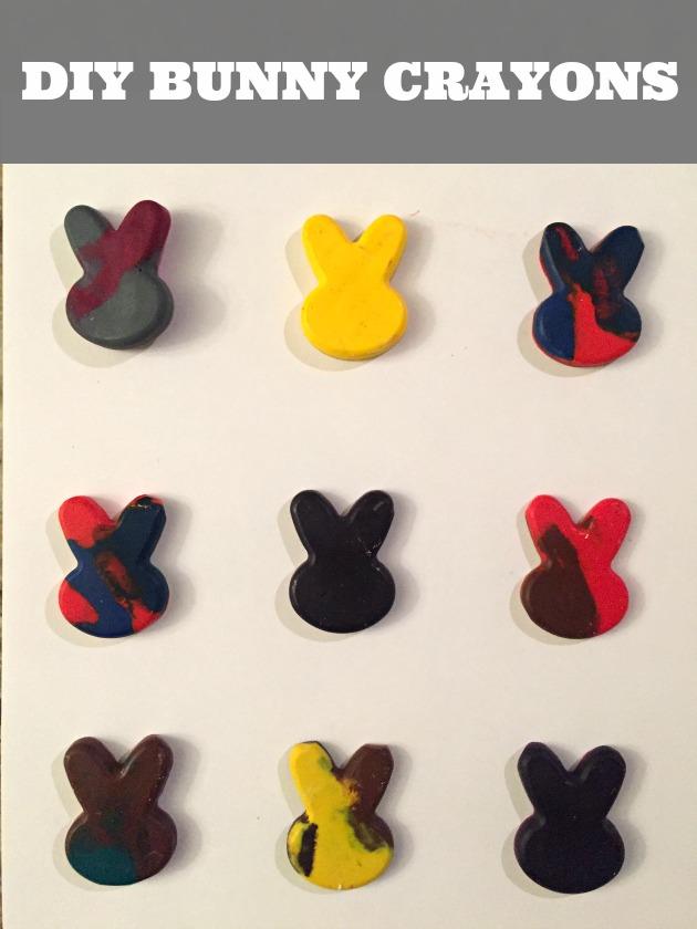 Easter Rabbit Craft: DIY Bunny Crayons