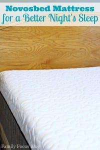 Novosbed Memory Foam Mattress Review