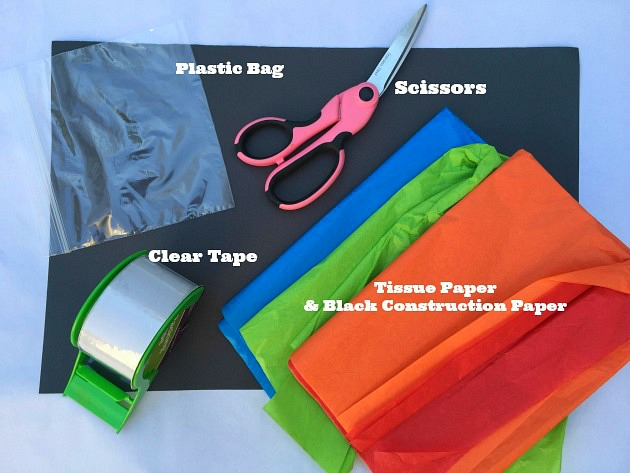 Tissue Paper Stained Glass Supplies