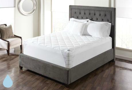sure fit waterproof mattress pad