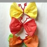 Easy Spring Craft: Make Paper Butterflies