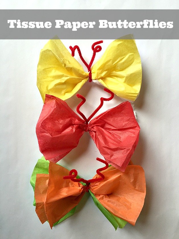 make paper butterflies