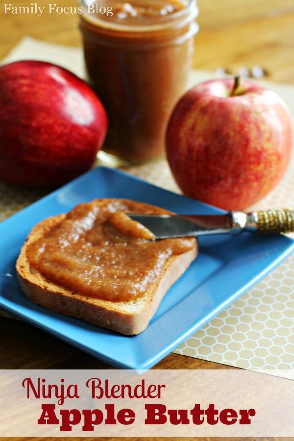 Make Apple Butter with for Your Ninja Blender