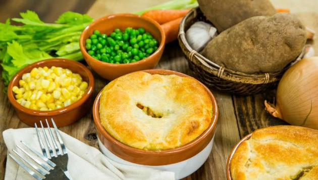 Pillsbury Chicken Pot Pie