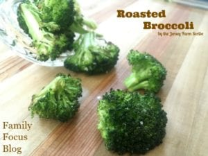 Oven Roasted Broccoli Parmesan Recipe