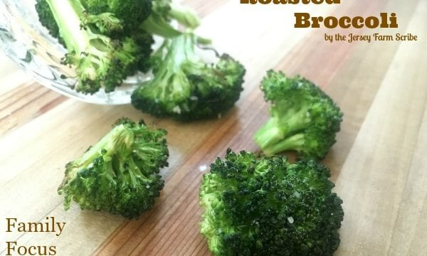 Oven Roasted Broccoli Parmesan Recipe