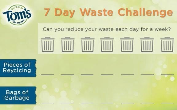 Can You Reduce Waste For Earth Month?  Take The Less Waste Challenge