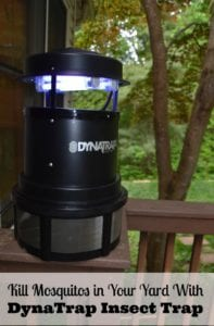 Kill Mosquitos in Your Yard With DynaTrap Insect Trap & #GuardYourYard Twitter Party