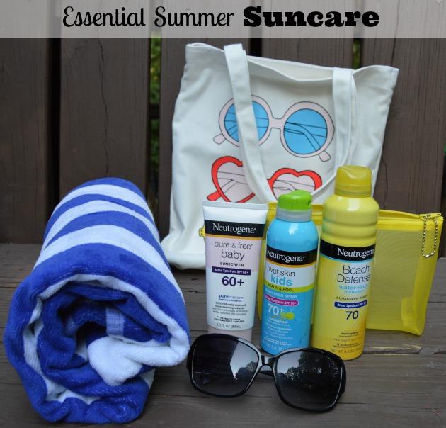 Essential suncare