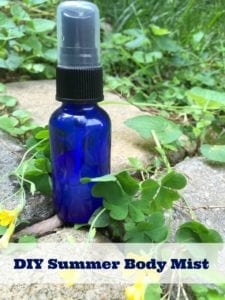 DIY Body Spray Perfume