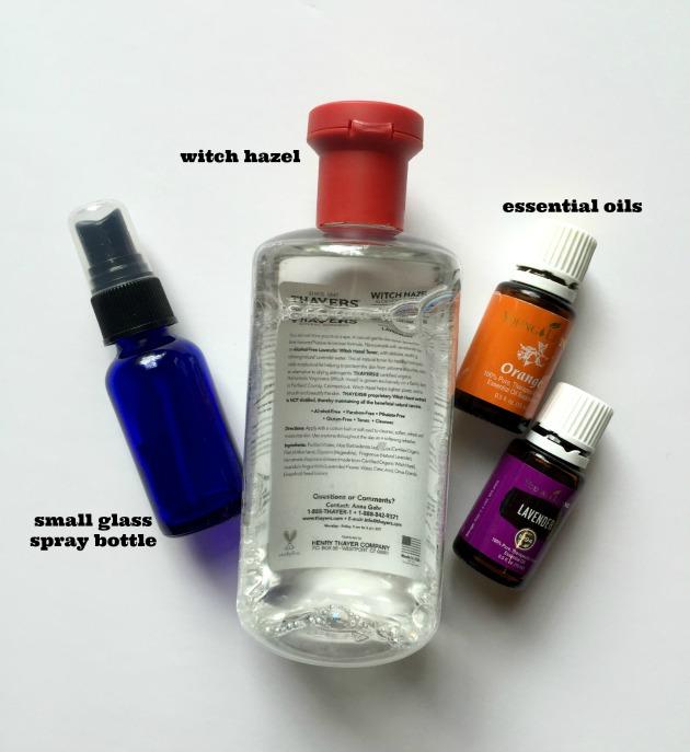 body spray recipe