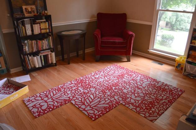 Flor Carpet Tiles Squares Amp My Toy Room Makeover Family